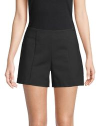 Saks Fifth Avenue Black - Tailored Power Stretch Shorts - Lyst