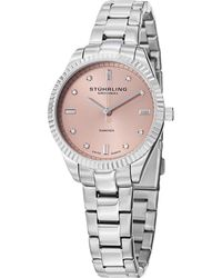 Stuhrling Original - Sturling Original Women's Allure Diamond Watch - Lyst