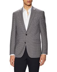 Kenneth Cole - Wool Chequered Sportcoat - Lyst