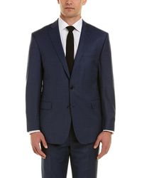 Brooks Brothers - Regent Fit Wool-blend Suit With Flat Front Pant - Lyst