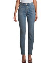 Balenciaga - High-waist Skinny Pant - Lyst
