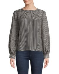WHIT - Alice Cotton Top - Lyst