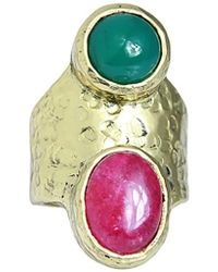 Saachi - Agate Ring - Lyst