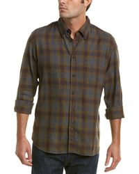 Billy Reid Tuscumbia Standard Fit Plaid Sport Shirt