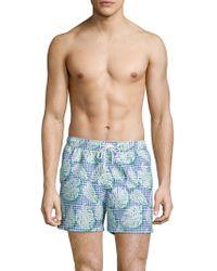T. Christopher - Botanical Nantucket Swim Short - Lyst