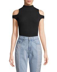 Free People - Cold-shoulder Bodysuit - Lyst