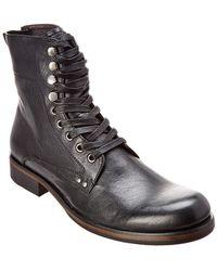 John Varvatos - John Varvatos Leather Boot - Lyst
