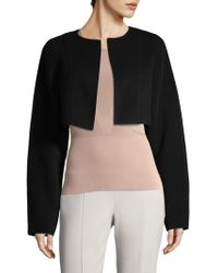 Narciso Rodriguez - Cropped Jacket - Lyst