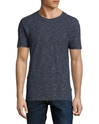 Knowledge Cotton Apparel - Crewneck Striped Tee - Lyst