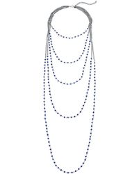 Gemma Simone - Beaded Layer Necklace - Lyst