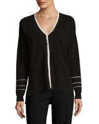 10 Crosby Derek Lam - Blanket Stitch Cotton Sweater - Lyst