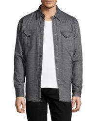 Robert Graham - Solid Cotton Jacket - Lyst