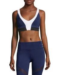 Body Language Sportswear - Posh Criss-cross Top - Lyst