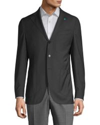 Eidos - Pinstripe Wool Sportcoat - Lyst