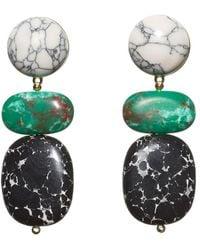 Lele Sadoughi - Boulder 14k Plated Drop Earrings - Lyst