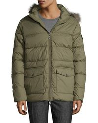 ce4a99409e89 Lyst - Nigel Cabourn Authentic Everest Parka in Green for Men