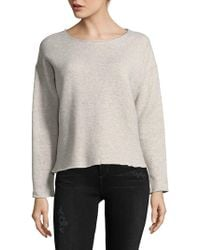 Mother - The Drop Raw Sweater - Lyst