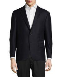 Hickey Freeman - Milburn Ii Buttoned Wool Jacket - Lyst