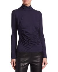 Armani - Ruched Sweater - Lyst