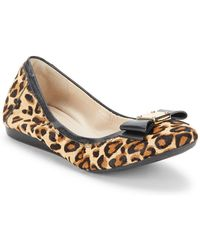 Cole Haan - Tali Bow-accented Ballet Flats - Lyst