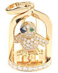 Cartier - Cartier 18k Gemstone Songbird Enhancer - Lyst