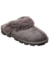 UGG Women's Coquette Suede Slipper - Gray