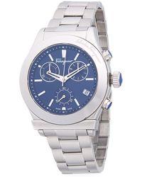 Ferragamo - Logo Stainless Steel Bracelet Watch - Lyst