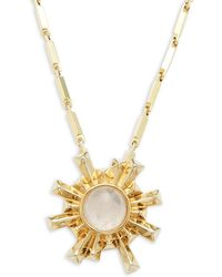 Eddie Borgo | Sunburst 12k Gold-plated Pendant Necklace | Lyst