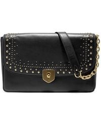 Cole Haan - Marli Studded Leather Clutch - Lyst