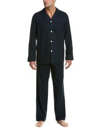Brooks Brothers - 2pc Flannel Lounge Set - Lyst