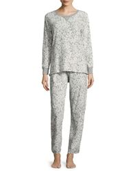 Carole Hochman - Printed Grid Pyjamas - Lyst
