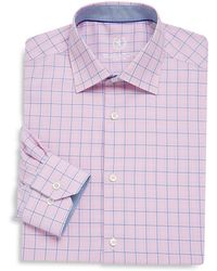Bugatchi - Checked Dress Shirt - Lyst