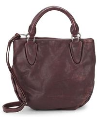 Liebeskind Berlin - Textured Leather Shoulder Bag - Lyst