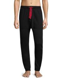 Emporio Armani | Knit Cotton-blend Sweatpants | Lyst