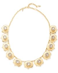 Alexis Bittar - Lucite Crystal Stone Liquid Silk Bib Statement Necklace - Lyst