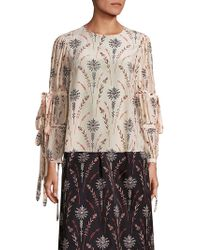Creatures of the Wind - Tav Floral Printed Blouse - Lyst