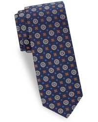 Saks Fifth Avenue - Floral Silk Tie - Lyst