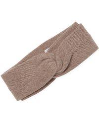 Portolano - Knot Ribbed Headband - Lyst