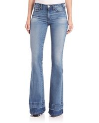 Mcguire - Majorelle Released-hem Flared Jeans - Lyst