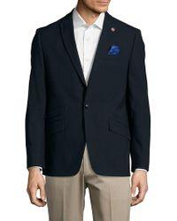 Ben Sherman - Textured Wool-blend Jacket - Lyst