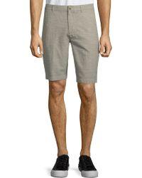 Ben Sherman - Tonic Cotton Linen Shorts - Lyst