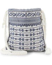 Star Mela - Mendi Embroidered Crossbody Bag - Lyst