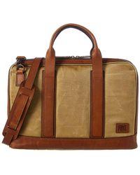 Frye - Carter Slim Briefcase - Lyst