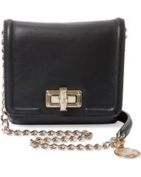 Lanvin - Happy Mini Leather Shoulder Bag - Lyst