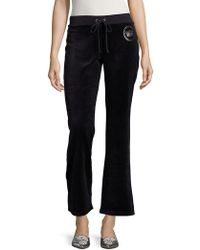 Juicy Couture - Solid Drawstring Pants - Lyst