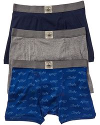 Lucky Brand Pack Of 3 Boxer Briefs