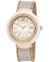 Alor - Women's 43mm Cavo Diamond Rope Watch - Lyst