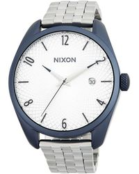 Nixon - Bullet Stainless Steel Bracelet Watch - Lyst