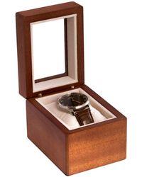 Bey-berk - Bey Berk Single Watch Box - Lyst