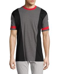 Givenchy - Colorblock Cotton T-shirt - Lyst